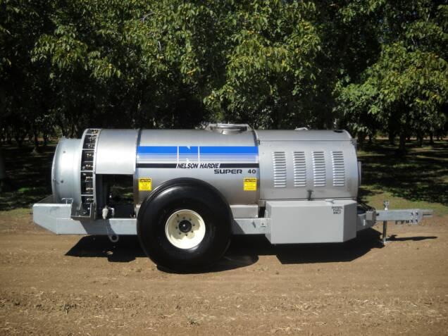 """140HP diesel with 40"""" Dia. 16-blade fan"""